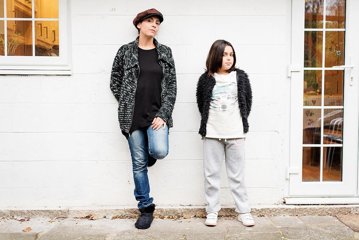 Simona and Cloe Scaduto, Bromley, London (ENG) 2015.