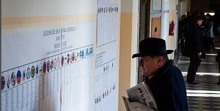 (2013) Giorgio Napolitano votes for the new Government