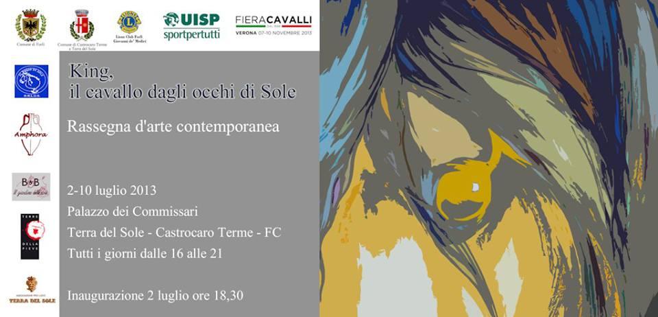 King il cavallo dagli occhi di sole 2013 -  Castro Caro Terme (FC)
