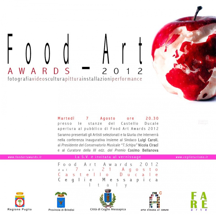 FOOD ART AWARDS 2012  - Ceglie Messapica (Brindisi)